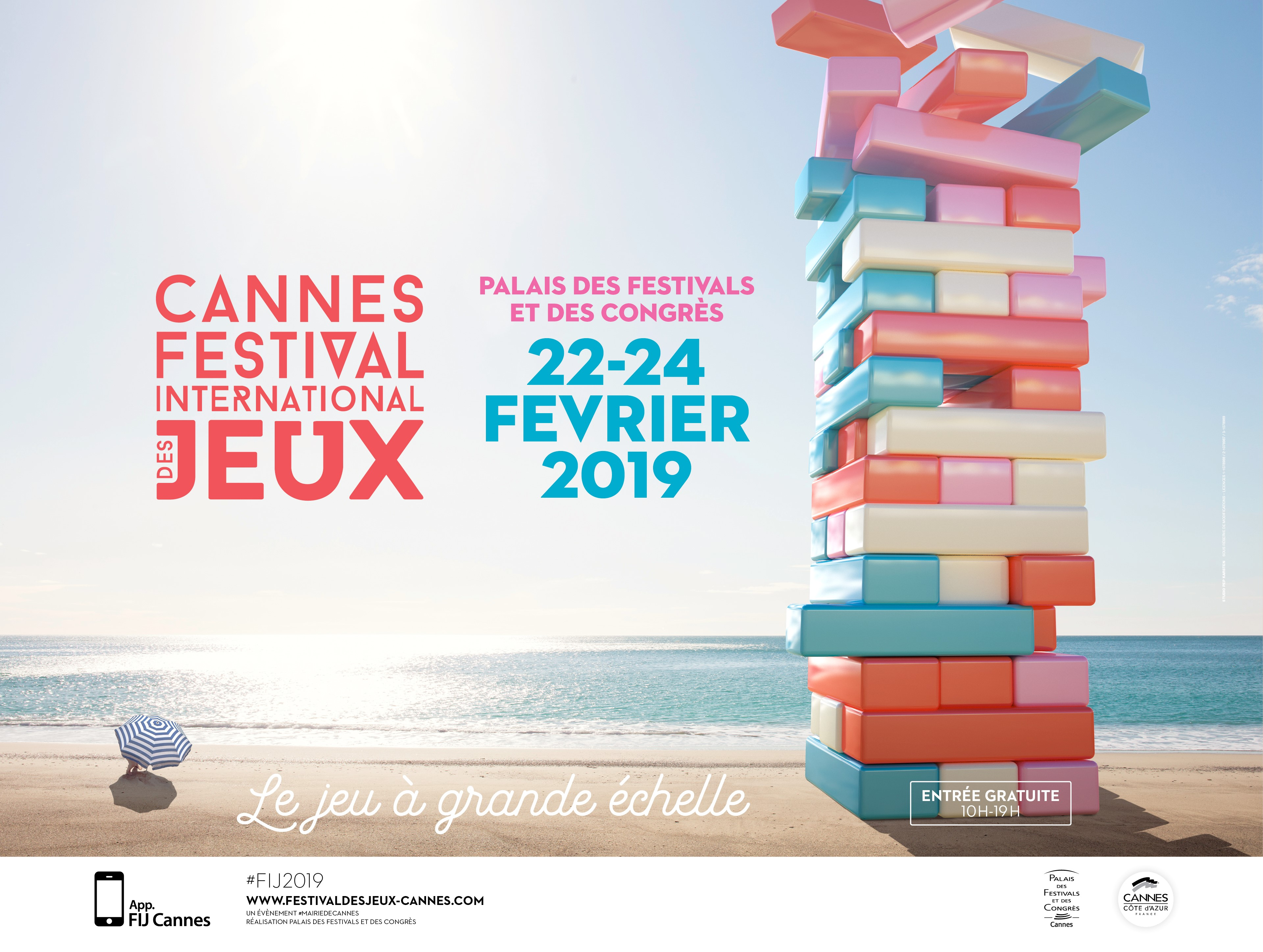 affiche festival international des jeux cannes
